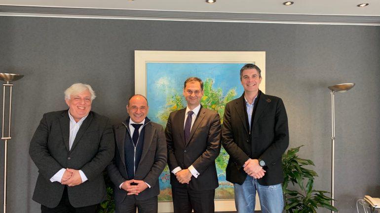 Συνάντηση με τον Υπουργό Τουρισμού και την Ένωση Ξενοδοχείων Ηρακλείου